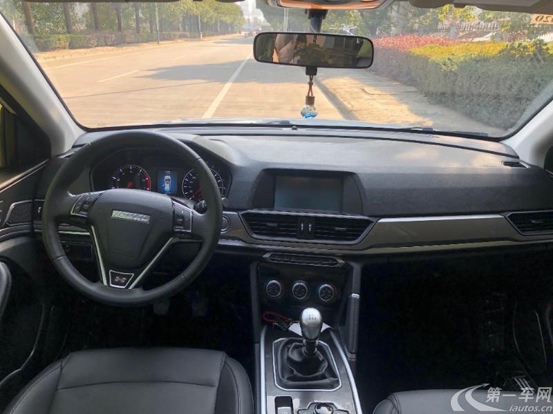 长城哈弗H6 2018款 1.5T 手动 前驱 运动版精英型 (国Ⅴ)