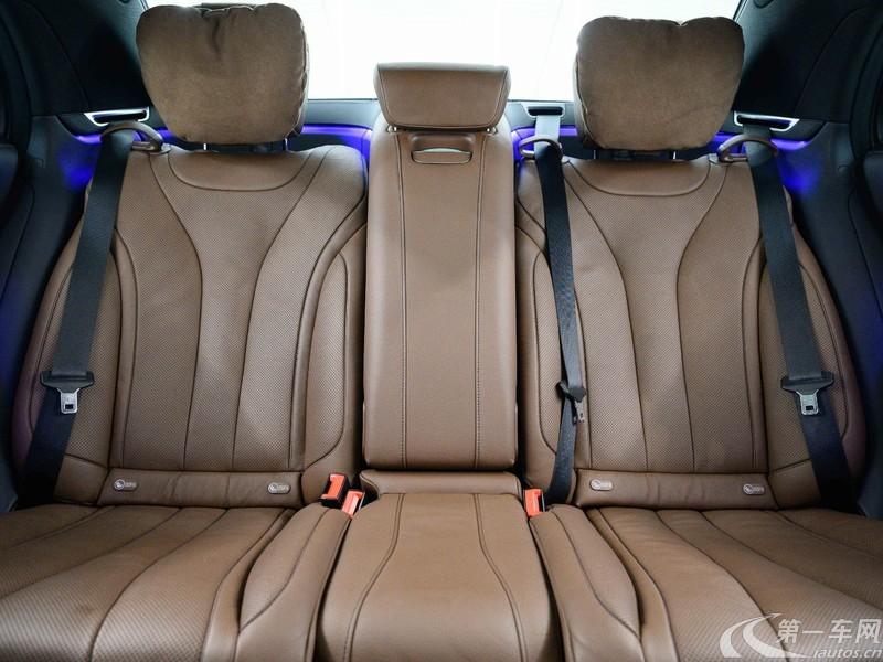 奔驰S级 S450L [进口] 2020款 3.0T 自动 汽油 4MATIC臻藏版