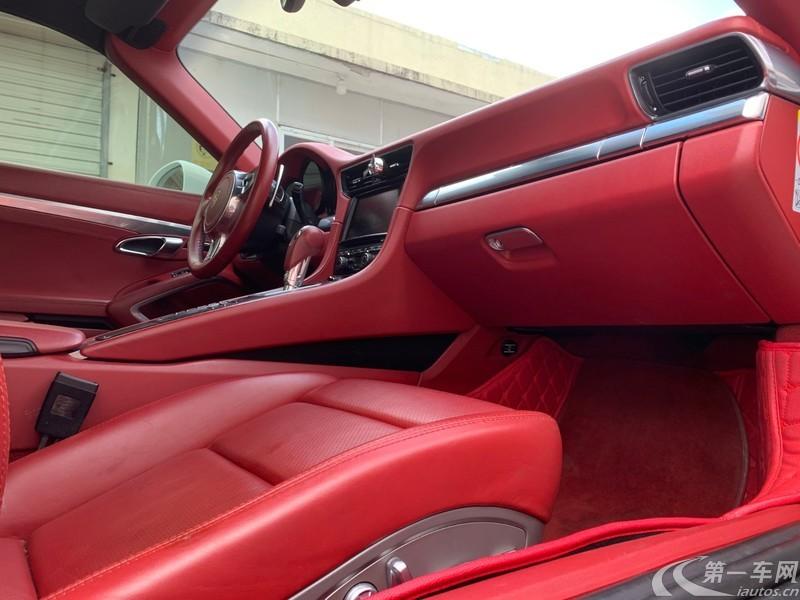 保时捷911 [进口] 2014款 3.8T 自动 Turbo (欧Ⅴ)