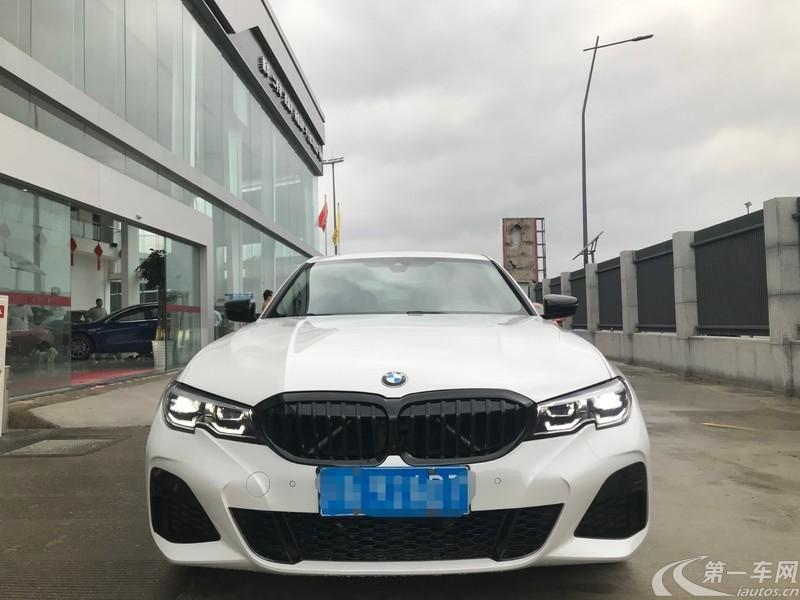 宝马3系 325i 2020款 2.0T 自动 汽油 M运动曜夜套装 (国Ⅵ)